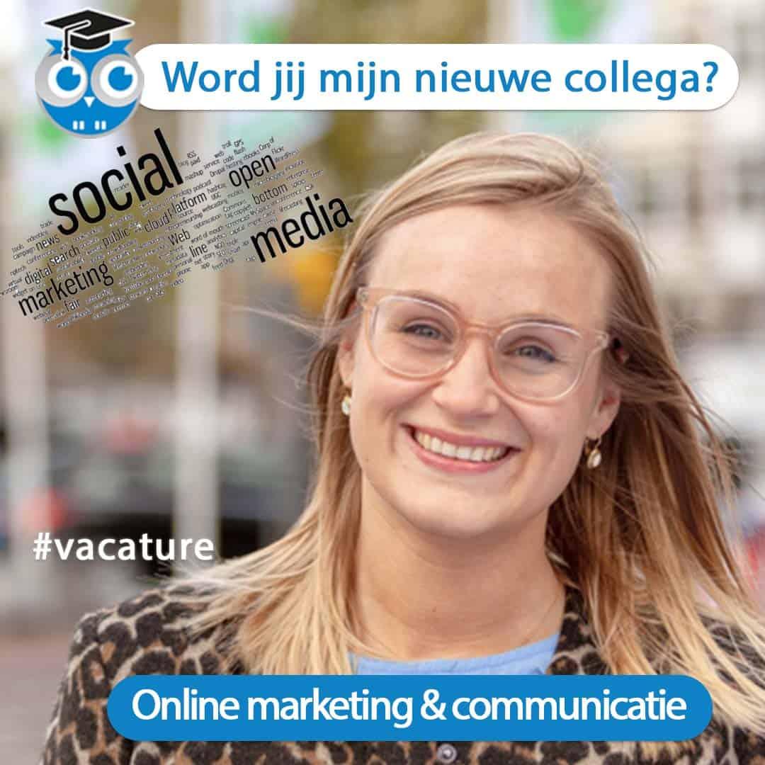 Nieuwe collega online marketing en communicatie gezocht