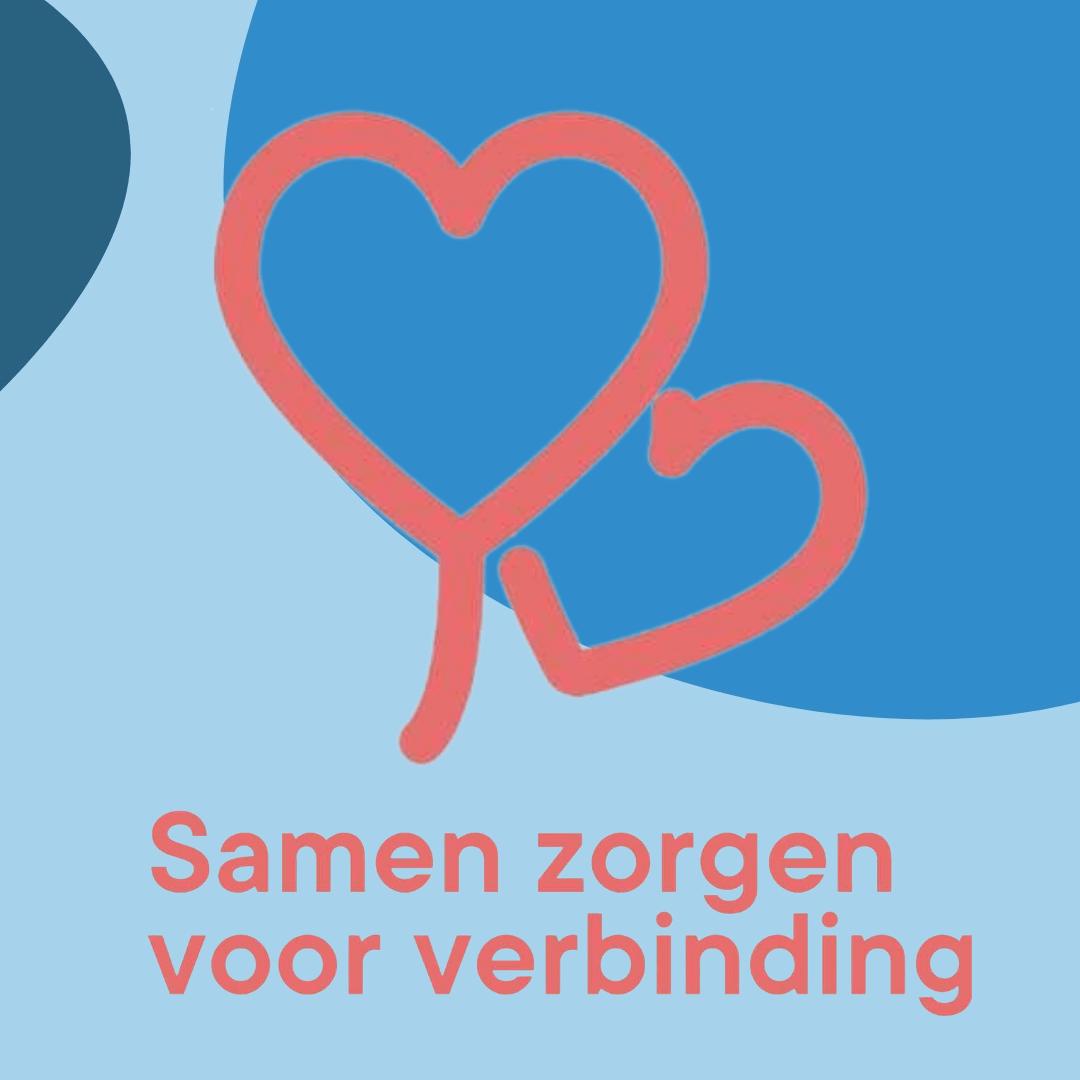 Logo van samen zorgen voor verbinding